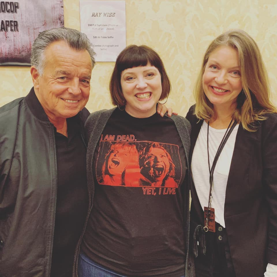 Ray Wise and Sheryl Lee at Crypticon 2019